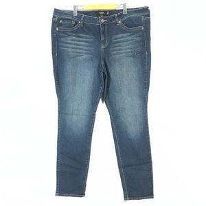Torrid skinny jeans plus size 24 tall